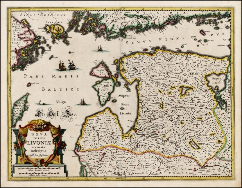 1636_Jansson_Nova_Totivs_Livoniae_raremaps