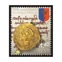 eesti-2002-700-a-lubecki-linnaoigust-rakveres-mnh