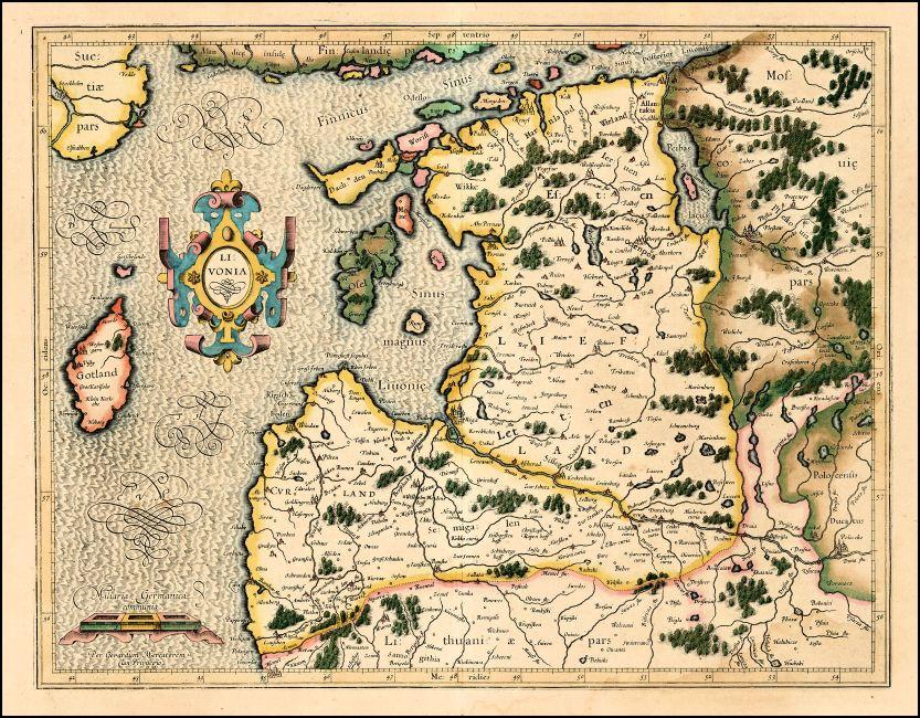 1595_G__Mercator_-_Livonia_raremaps